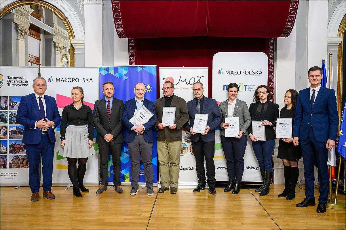 TPL 6279 GalaMSIT2019 Trzygwiazdkowy certyfikat dla PIT MSIT w Dąbrowie Tarnowskiej