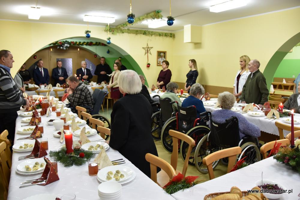 Wigilia Hospicjum DT 2019 14 Wigilia w DPS i Hospicjum im. Św. Brata Alberta Chmielowskiego