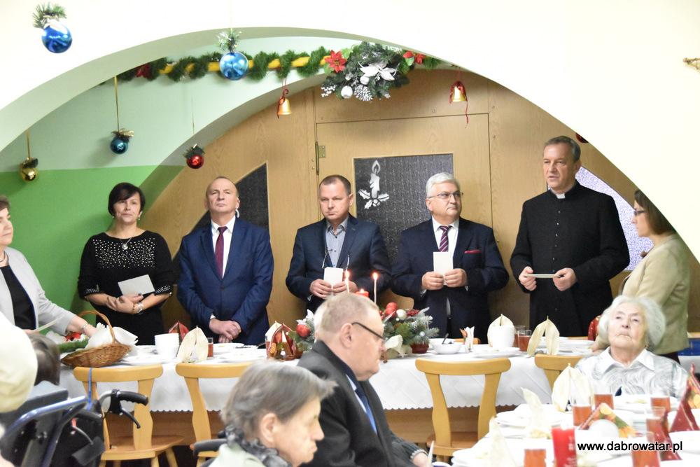 Wigilia Hospicjum DT 2019 20 Wigilia w DPS i Hospicjum im. Św. Brata Alberta Chmielowskiego