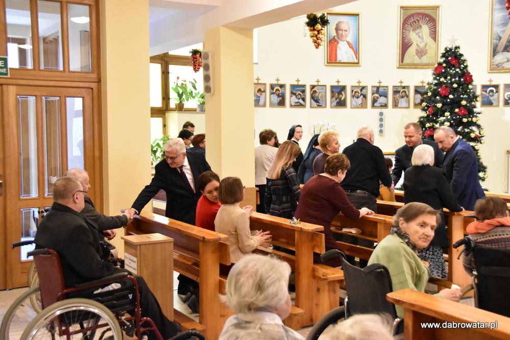 Wigilia Hospicjum DT 2019 4 Wigilia w DPS i Hospicjum im. Św. Brata Alberta Chmielowskiego