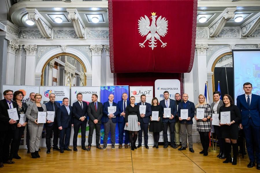 gala MSIT 2019 Trzygwiazdkowy certyfikat dla PIT MSIT w Dąbrowie Tarnowskiej