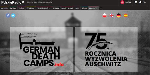75 rocznica wyzwolenia KL Auschwitz polskie radio 75. rocznica wyzwolenia niemieckiego nazistowskiego obozu koncentracyjnego Auschwitz Birkenau