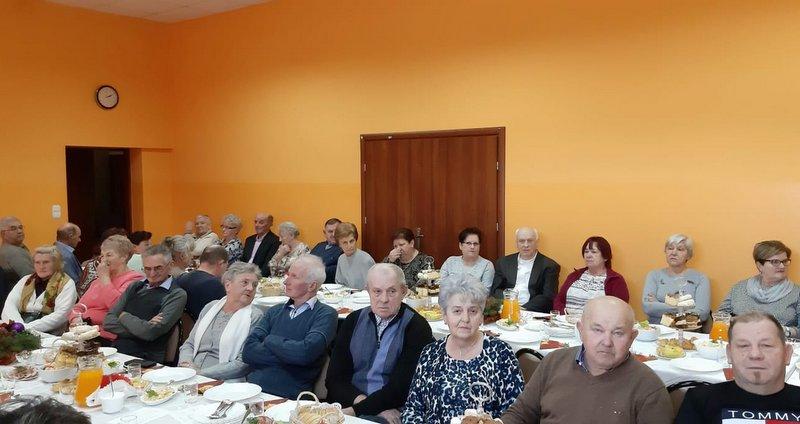 CLWS02201 Opłatek seniorów w Gruszowie Wielkim