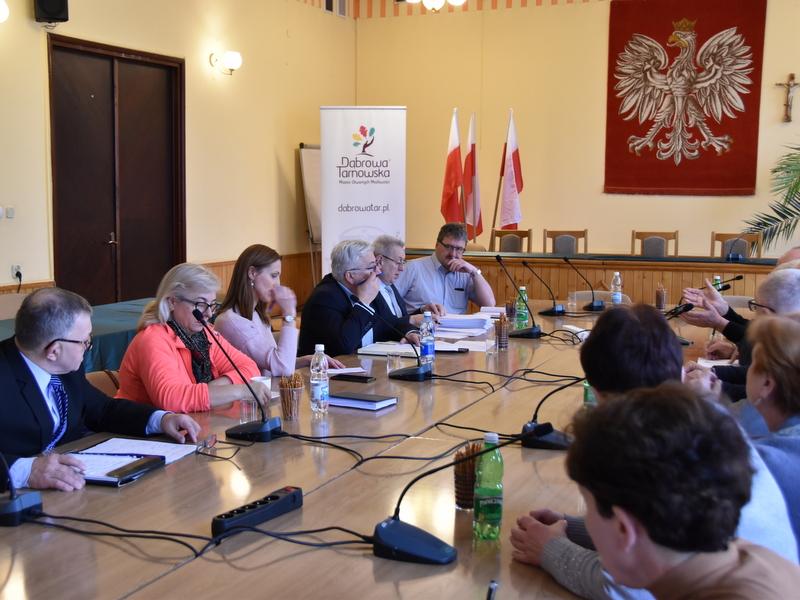 DSC 0777 Spotkanie Burmistrza Dąbrowy Tarnowskiej z sołtysami