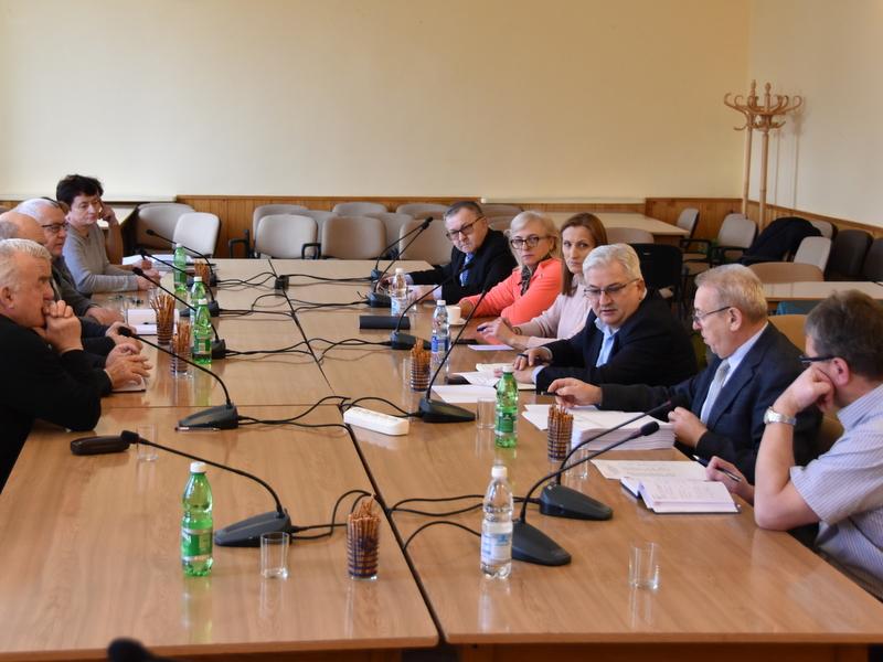 DSC 0782 Spotkanie Burmistrza Dąbrowy Tarnowskiej z sołtysami