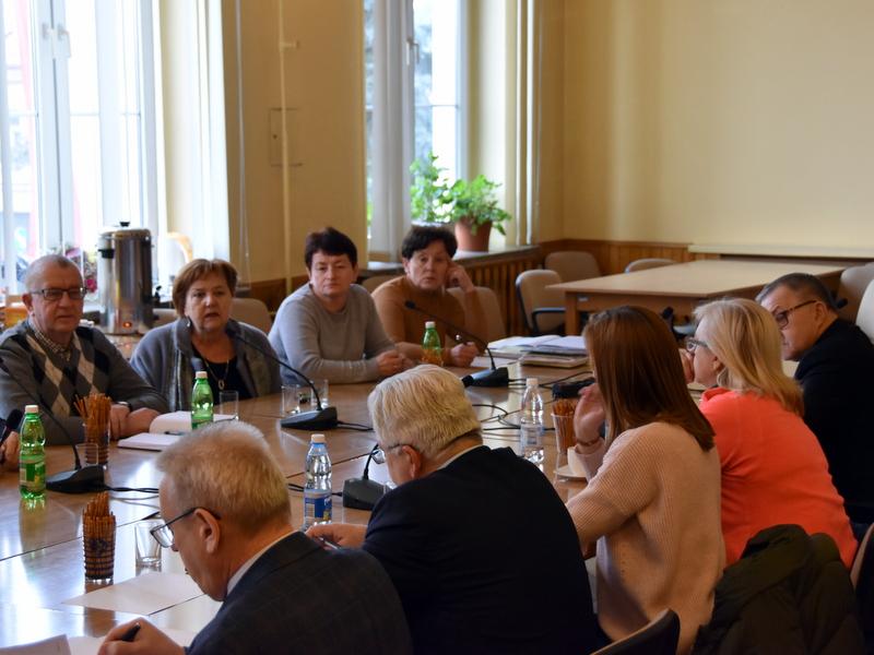 DSC 0790 Spotkanie Burmistrza Dąbrowy Tarnowskiej z sołtysami
