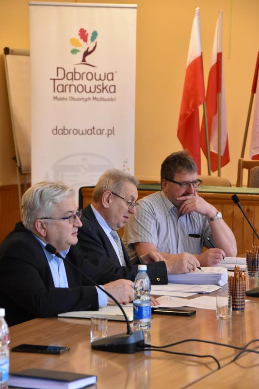 DSC 0794 Spotkanie Burmistrza Dąbrowy Tarnowskiej z sołtysami