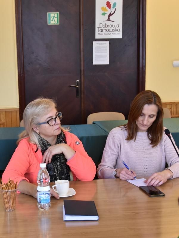 DSC 0802 Spotkanie Burmistrza Dąbrowy Tarnowskiej z sołtysami