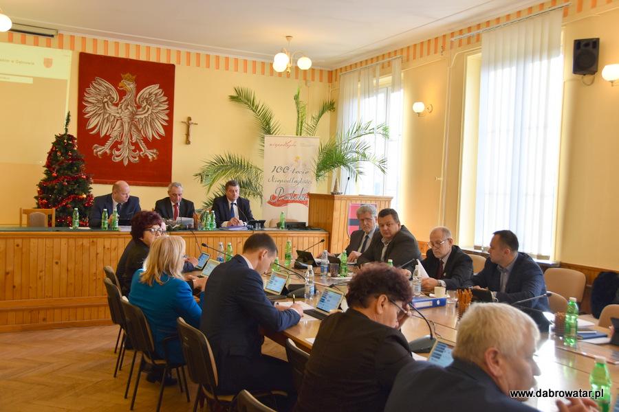 Sesja RMDT 30 12 2019 1 Gmina Dąbrowa Tarnowska z nowym budżetem na 2020 r.