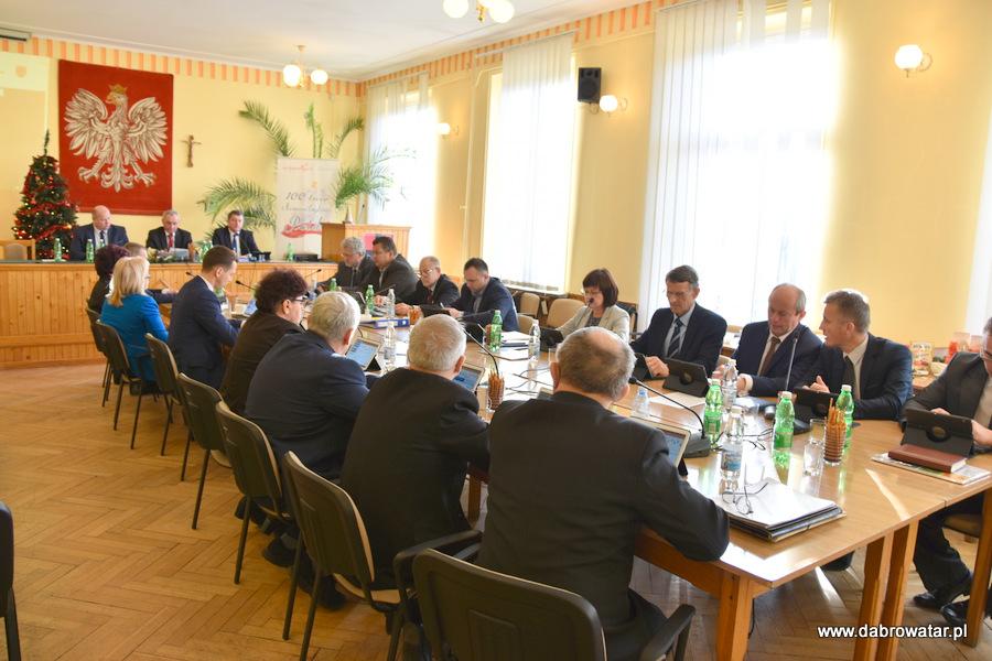 Sesja RMDT 30 12 2019 2 Gmina Dąbrowa Tarnowska z nowym budżetem na 2020 r.