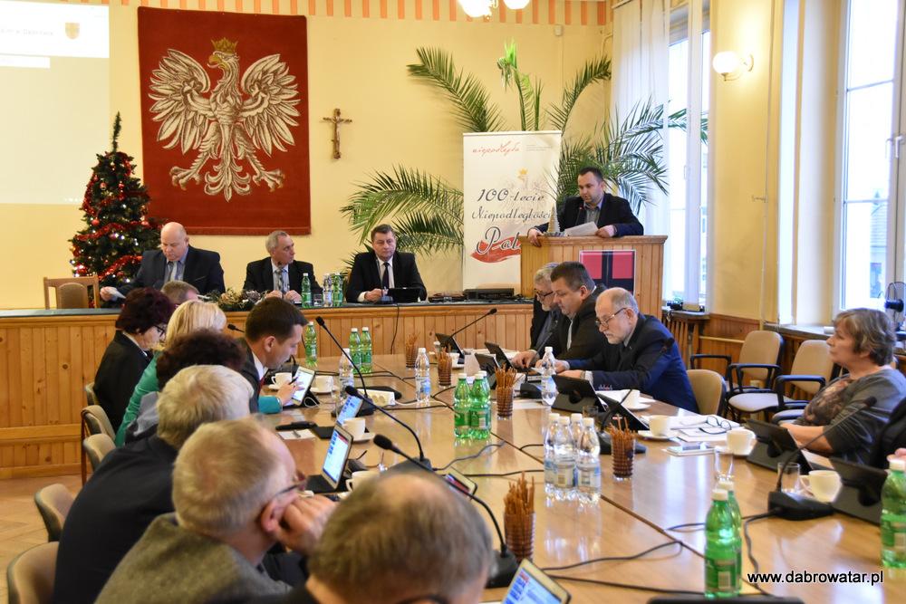 XVII SRMDT 10 01 2020 1 Radni obradowali na XVII Sesji Rady Miejskiej w Dąbrowie Tarnowskiej