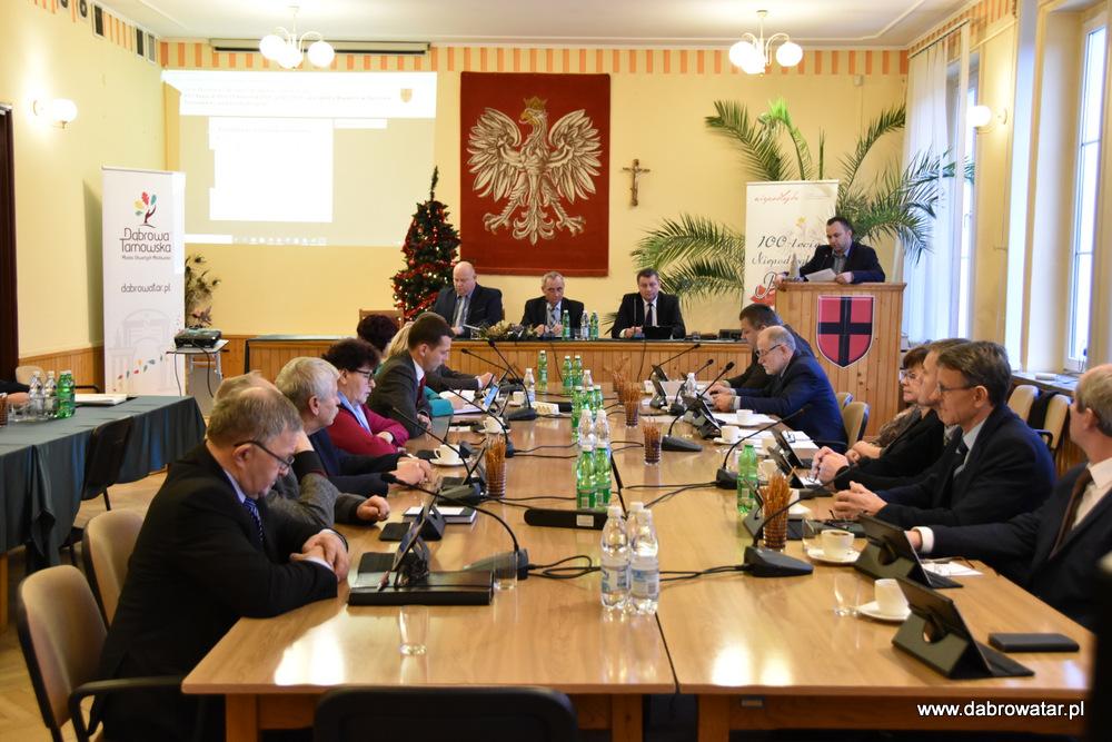 XVII SRMDT 10 01 2020 3 Radni obradowali na XVII Sesji Rady Miejskiej w Dąbrowie Tarnowskiej