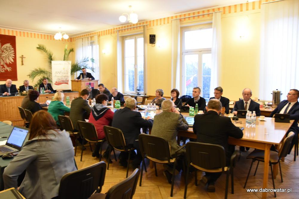XVII SRMDT 10 01 2020 5 Radni obradowali na XVII Sesji Rady Miejskiej w Dąbrowie Tarnowskiej