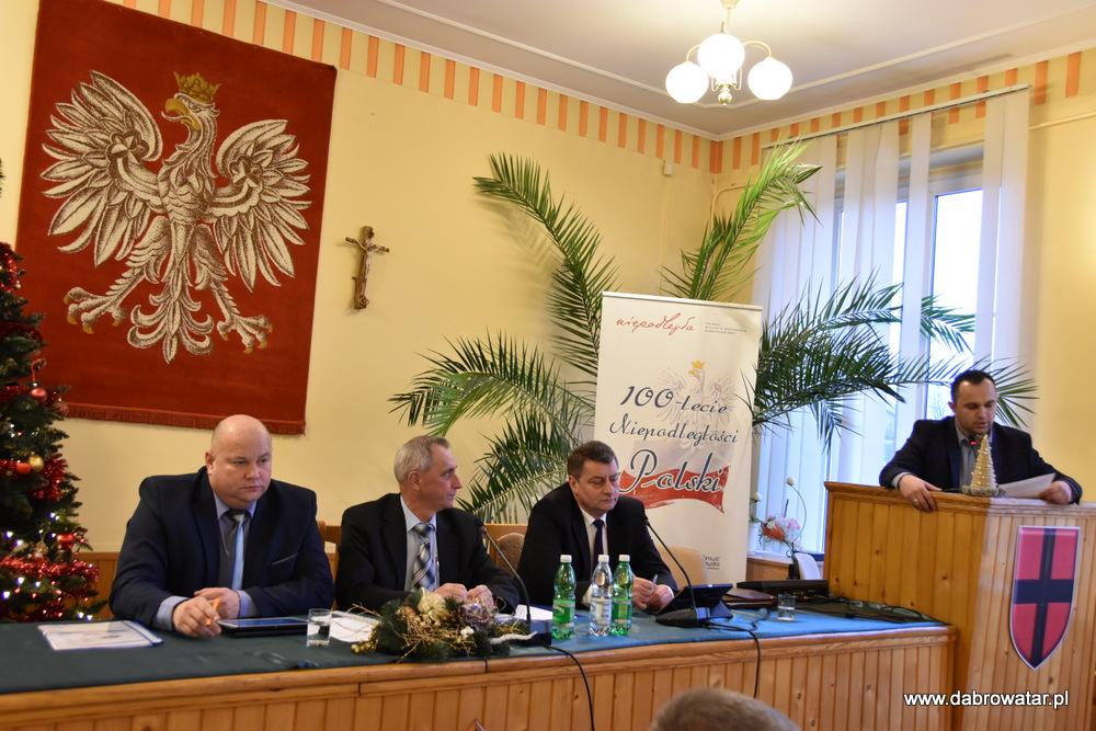 XVII SRMDT 10 01 2020 6 Radni obradowali na XVII Sesji Rady Miejskiej w Dąbrowie Tarnowskiej