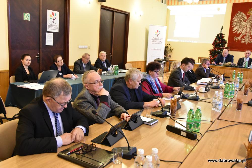XVII SRMDT 10 01 2020 8 Radni obradowali na XVII Sesji Rady Miejskiej w Dąbrowie Tarnowskiej