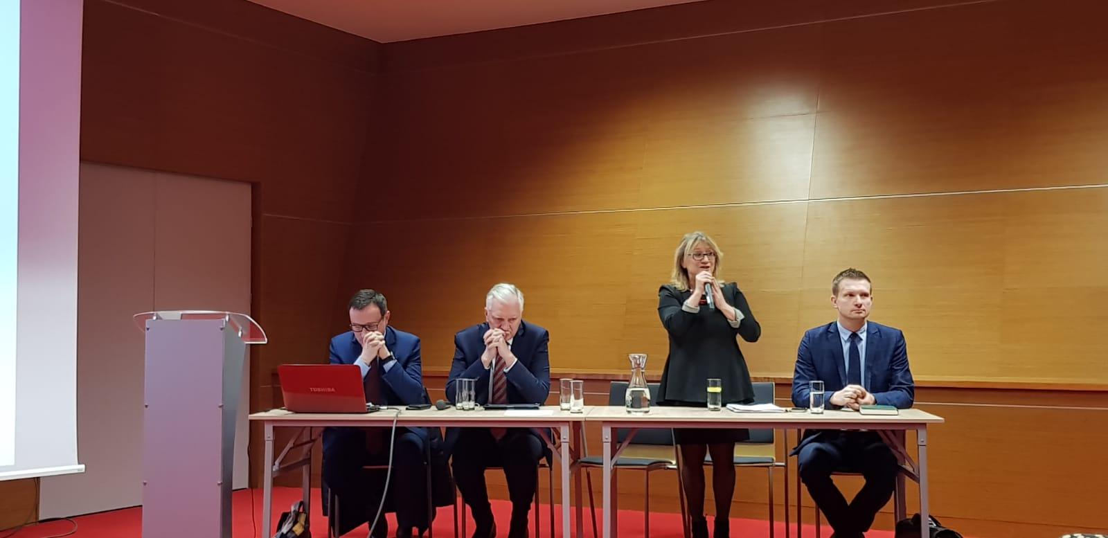 IMG 20200207 WA0000 Antysmogowa Konferencja Forum Wójtów, Burmistrzów i Prezydentów Małopolski z udziałem Burmistrza Dąbrowy Tarnowskiej
