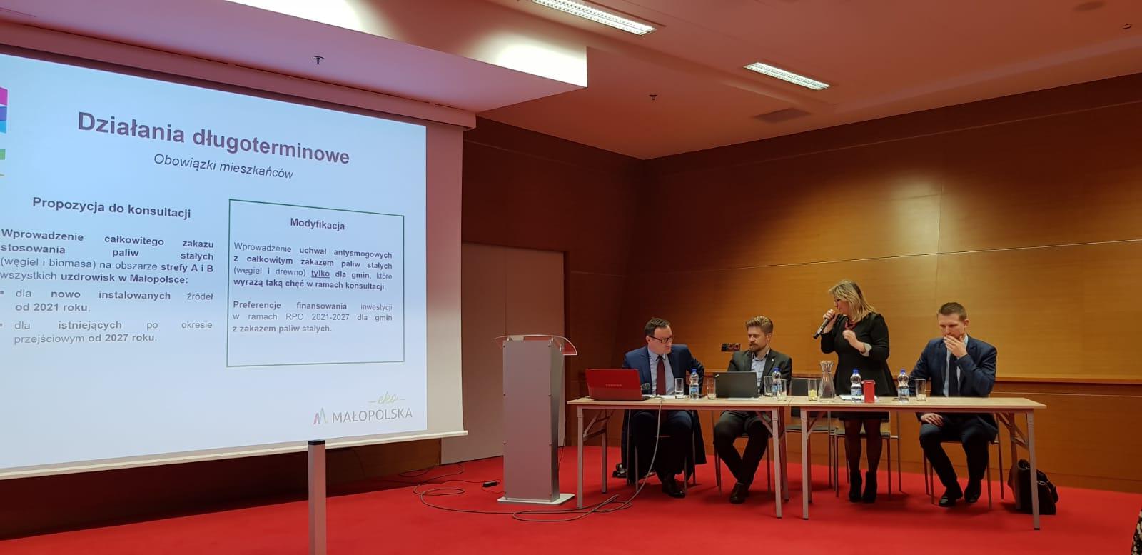 IMG 20200207 WA0008 Antysmogowa Konferencja Forum Wójtów, Burmistrzów i Prezydentów Małopolski z udziałem Burmistrza Dąbrowy Tarnowskiej