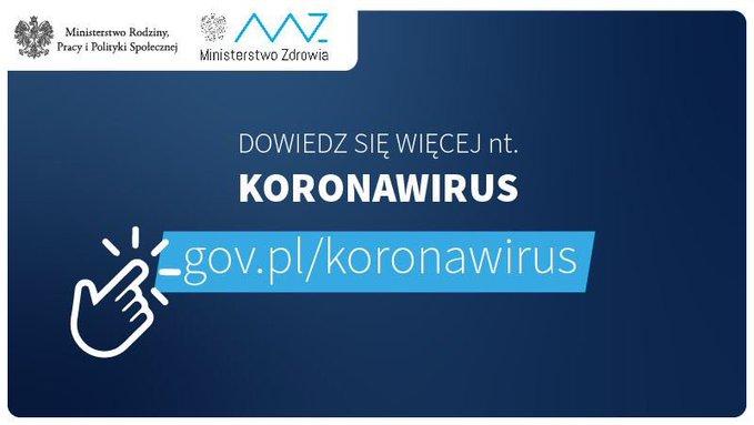 Koronawirus CoV 19 <font color=r />Co musisz wiedzieć o koronawirusie SARS Cov 2<br>oraz<br>Informacje Głównego Inspektora Sanitarnego dla osób powracających z północnych Włoch, Chin, Korei Południowej, Iranu, Japonii, Tajlandii, Wietnamu, Singapuru i Tajwanu
