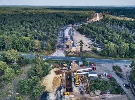 Las GAS SYSTEM Budowa strategicznego gazociągu przesyłowego GAZ SYSTEM na terenie gminy Dąbrowa Tarnowska