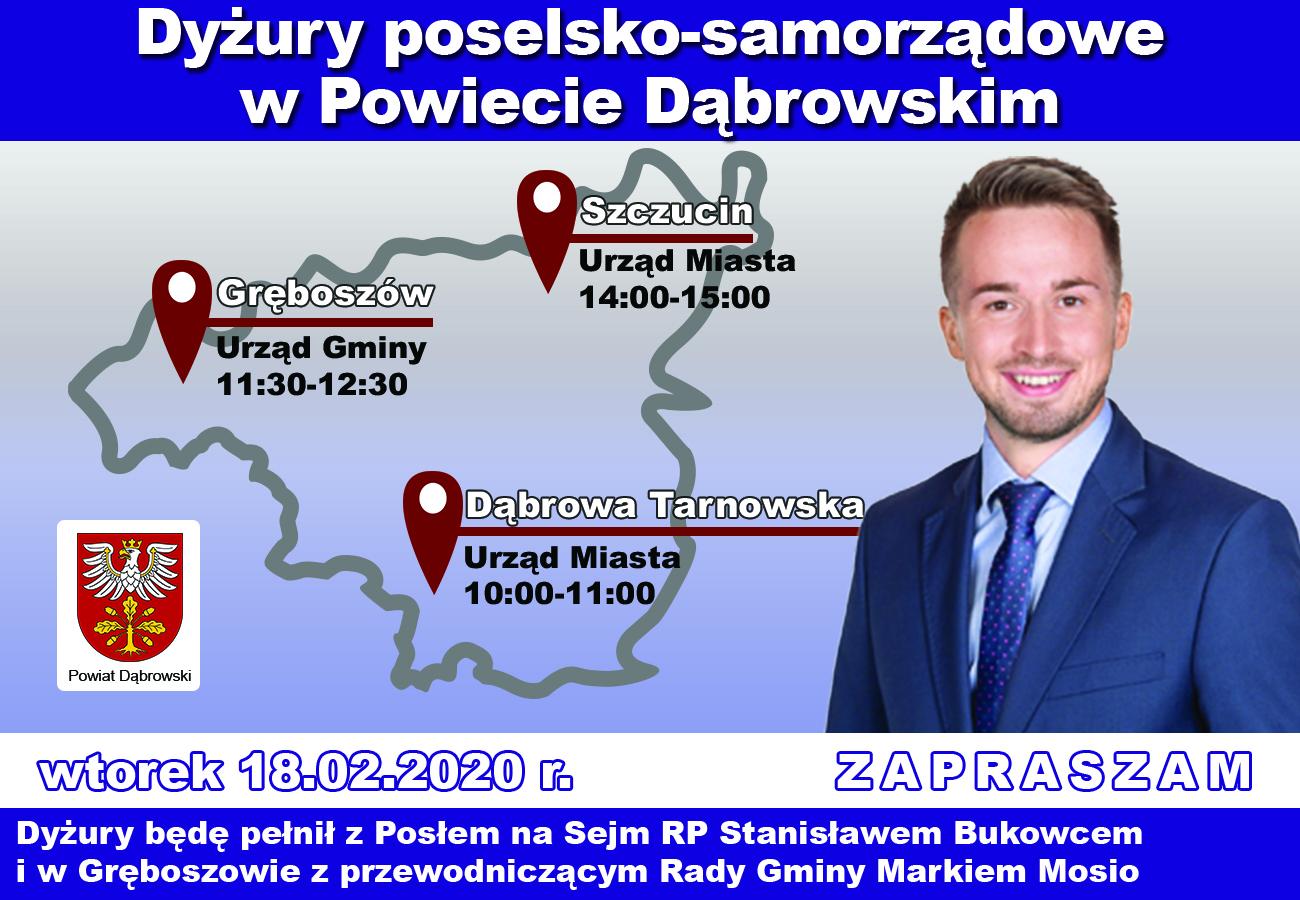 dyzury krzysiek Dyżur Posła na Sejm RP Stanisława Bukowca