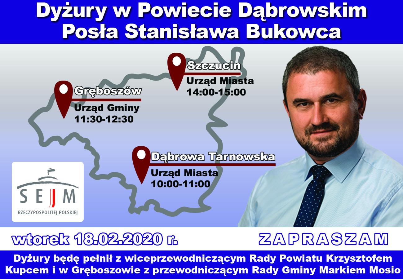 dyzury staszek 2 Dyżur Posła na Sejm RP Stanisława Bukowca