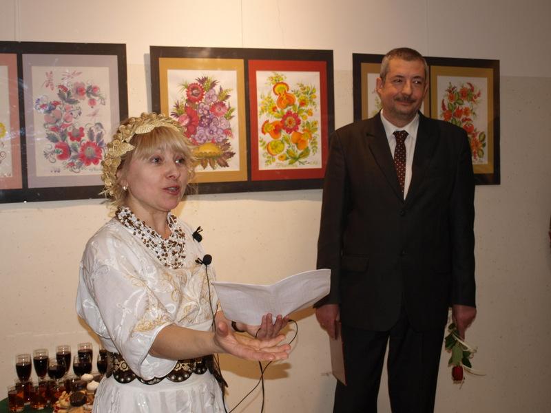 wystawa ukraińskiego malarstwa etnicznego w ddk 2020 1 Ukraińskie malarstwo etniczne Elli Zolotorenko w galerii DDK