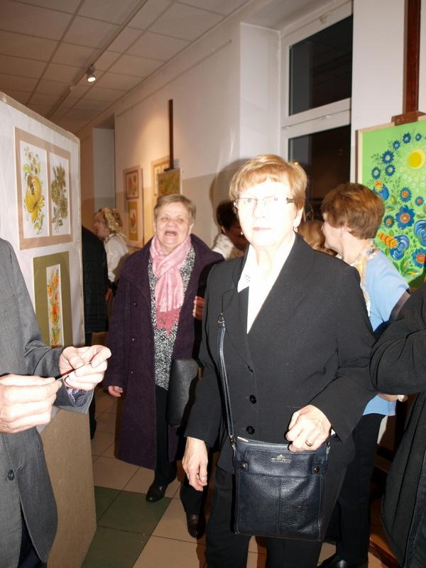 wystawa ukraińskiego malarstwa etnicznego w ddk 2020 5 Ukraińskie malarstwo etniczne Elli Zolotorenko w galerii DDK