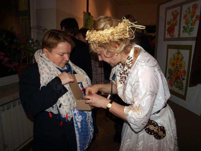wystawa ukraińskiego malarstwa etnicznego w ddk 2020 9 Ukraińskie malarstwo etniczne Elli Zolotorenko w galerii DDK