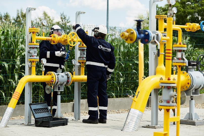 zawory rury GAS SYSTEM Budowa strategicznego gazociągu przesyłowego GAZ SYSTEM na terenie gminy Dąbrowa Tarnowska