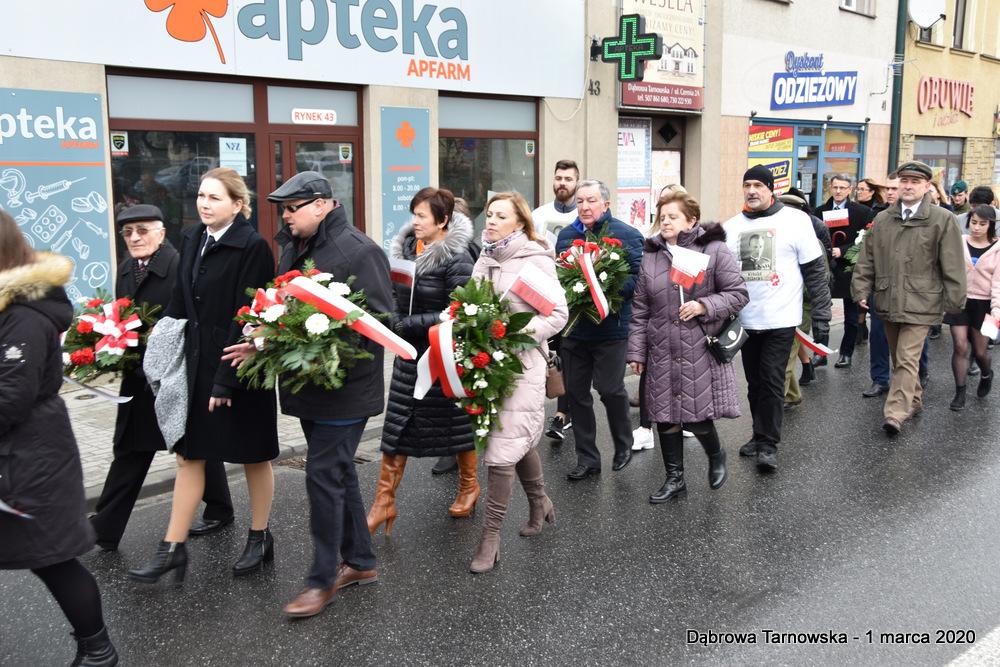 15 NDPŻW 1marca2020 36 Udział Gminy Dąbrowa Tarnowska w Powiatowych Obchodach Dnia Pamięci Żołnierzy Wyklętych