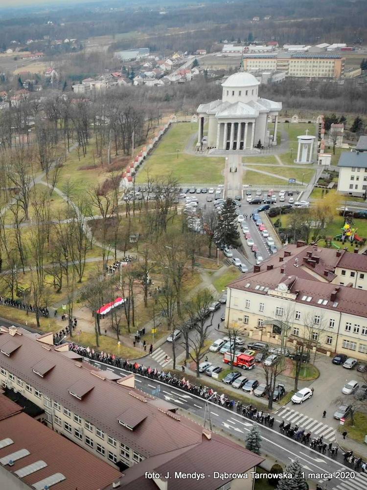 2 FB IMG 1583089385593 Udział Gminy Dąbrowa Tarnowska w Powiatowych Obchodach Dnia Pamięci Żołnierzy Wyklętych