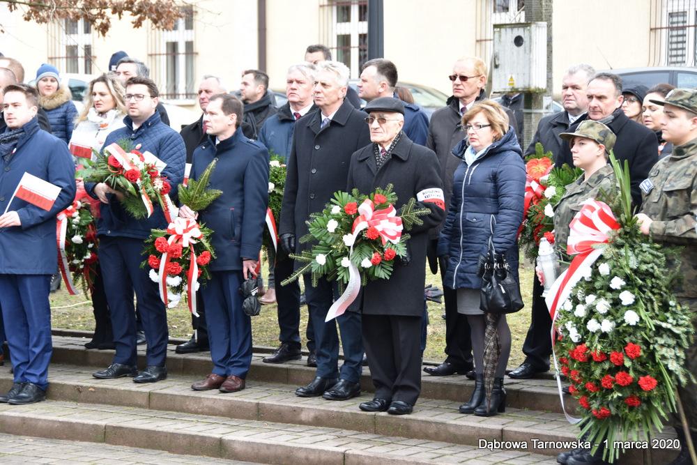 21 NDPŻW 1marca2020 50 Udział Gminy Dąbrowa Tarnowska w Powiatowych Obchodach Dnia Pamięci Żołnierzy Wyklętych