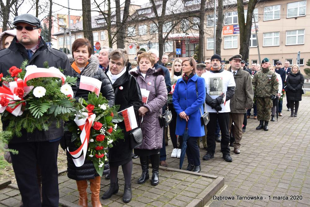 24 NDPŻW 1marca2020 56 Udział Gminy Dąbrowa Tarnowska w Powiatowych Obchodach Dnia Pamięci Żołnierzy Wyklętych
