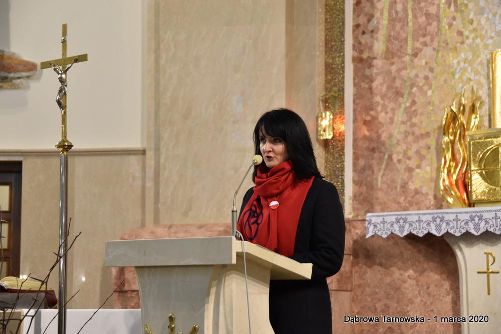 55 NDPŻW 1marca2020 134 Udział Gminy Dąbrowa Tarnowska w Powiatowych Obchodach Dnia Pamięci Żołnierzy Wyklętych
