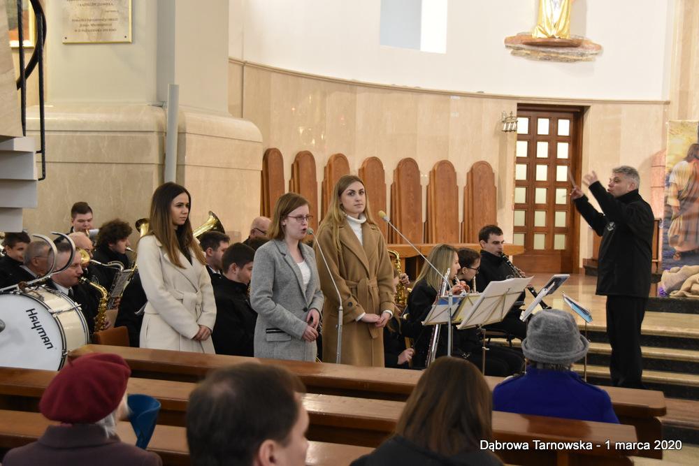 61 NDPŻW 1marca2020 153 Udział Gminy Dąbrowa Tarnowska w Powiatowych Obchodach Dnia Pamięci Żołnierzy Wyklętych