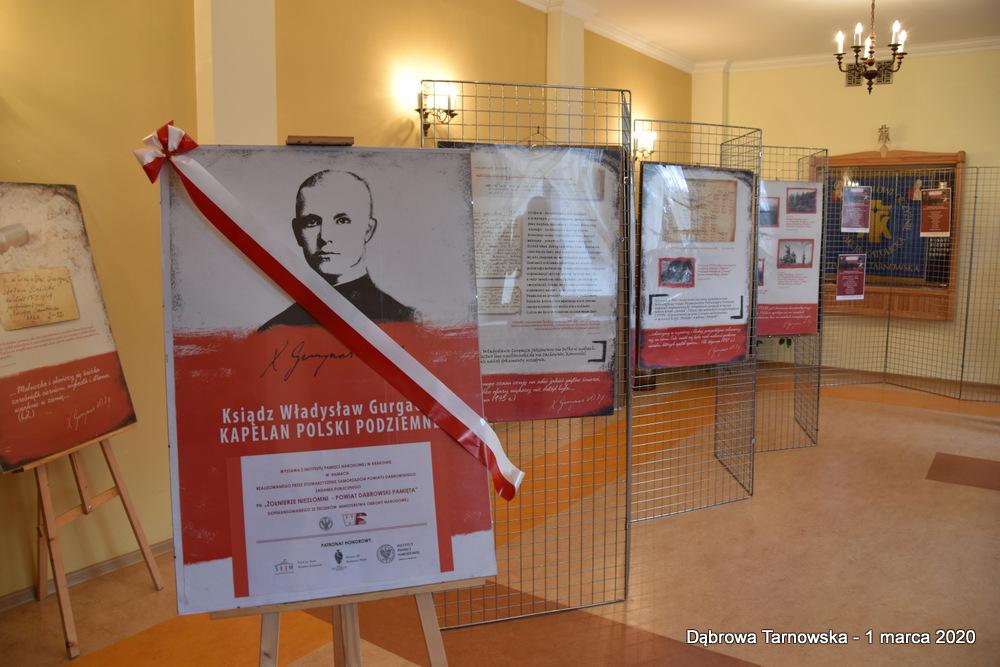 65 NDPŻW 1marca2020 159 Udział Gminy Dąbrowa Tarnowska w Powiatowych Obchodach Dnia Pamięci Żołnierzy Wyklętych