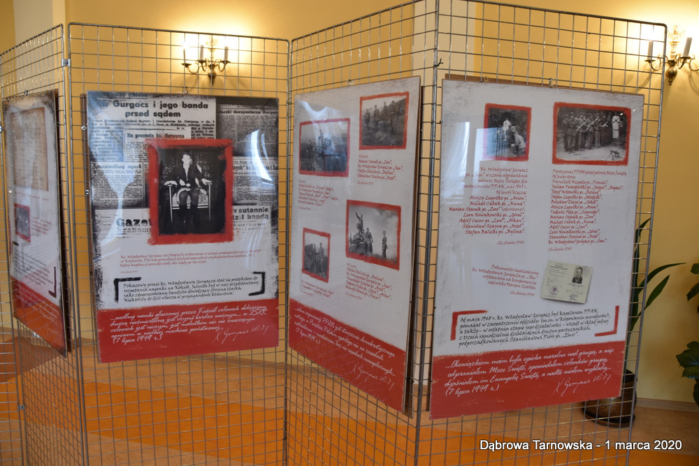 66 NDPŻW 1marca2020 160 Udział Gminy Dąbrowa Tarnowska w Powiatowych Obchodach Dnia Pamięci Żołnierzy Wyklętych