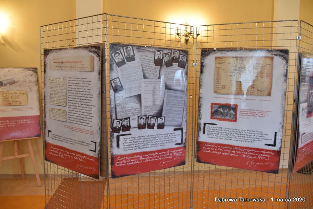 67 NDPŻW 1marca2020 161 Udział Gminy Dąbrowa Tarnowska w Powiatowych Obchodach Dnia Pamięci Żołnierzy Wyklętych