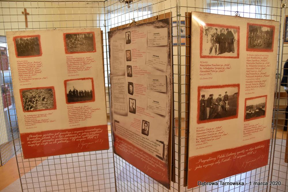 69 NDPŻW 1marca2020 163 Udział Gminy Dąbrowa Tarnowska w Powiatowych Obchodach Dnia Pamięci Żołnierzy Wyklętych