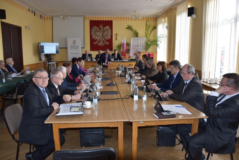 DSC 0257 XIX sesja Rady  Miejskiej w Dąbrowie Tarnowskiej