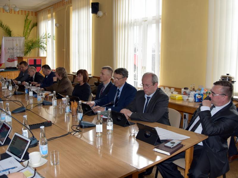 DSC 0262 XIX sesja Rady  Miejskiej w Dąbrowie Tarnowskiej
