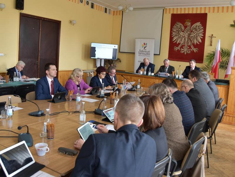 DSC 0267 XIX sesja Rady  Miejskiej w Dąbrowie Tarnowskiej