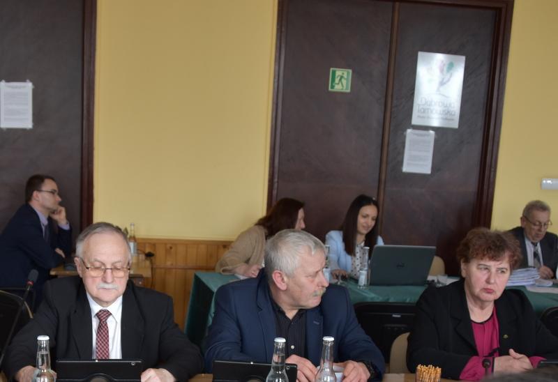 DSC 0268 XIX sesja Rady  Miejskiej w Dąbrowie Tarnowskiej