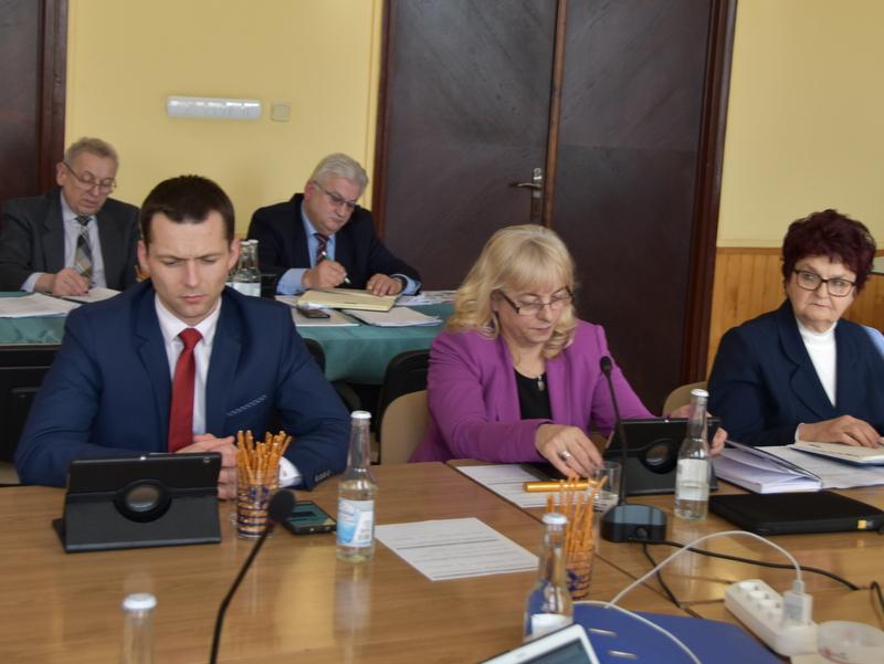 DSC 0281 XIX sesja Rady  Miejskiej w Dąbrowie Tarnowskiej