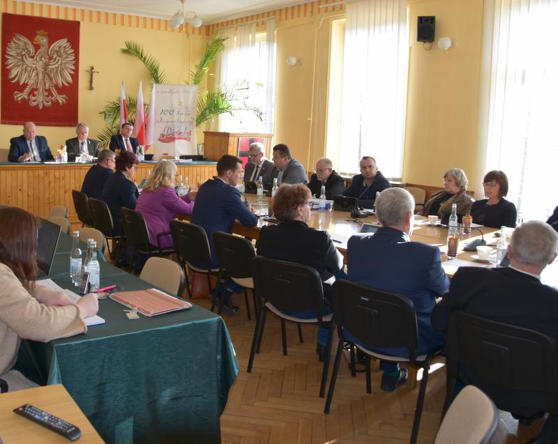 DSC 0284 XIX sesja Rady  Miejskiej w Dąbrowie Tarnowskiej