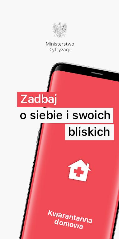 """Kwarantanna donowa min cyfryzacji Aplikacja """"Kwarantanna domowa"""""""
