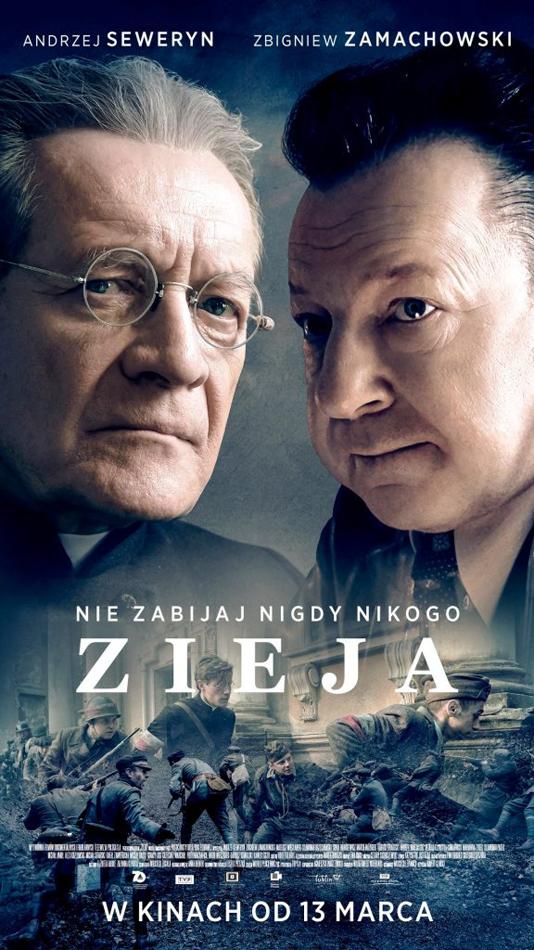 """zieja eposter 576x1024 Opowieść o ks. Ziei   film o wspaniałym duchownym w dąbrowskim """"Sokole"""""""