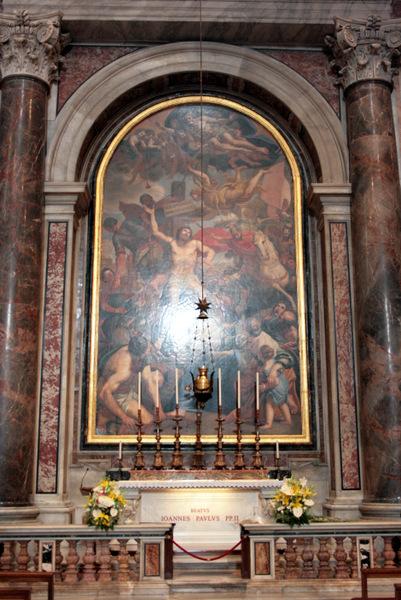 Grob 2 jp 2 15. rocznica śmierci Św. Jana Pawła II