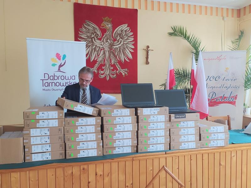 """IMG 20200417 114752 Gmina Dąbrowa Tarnowska w programie """"Zdalna Szkoła"""""""