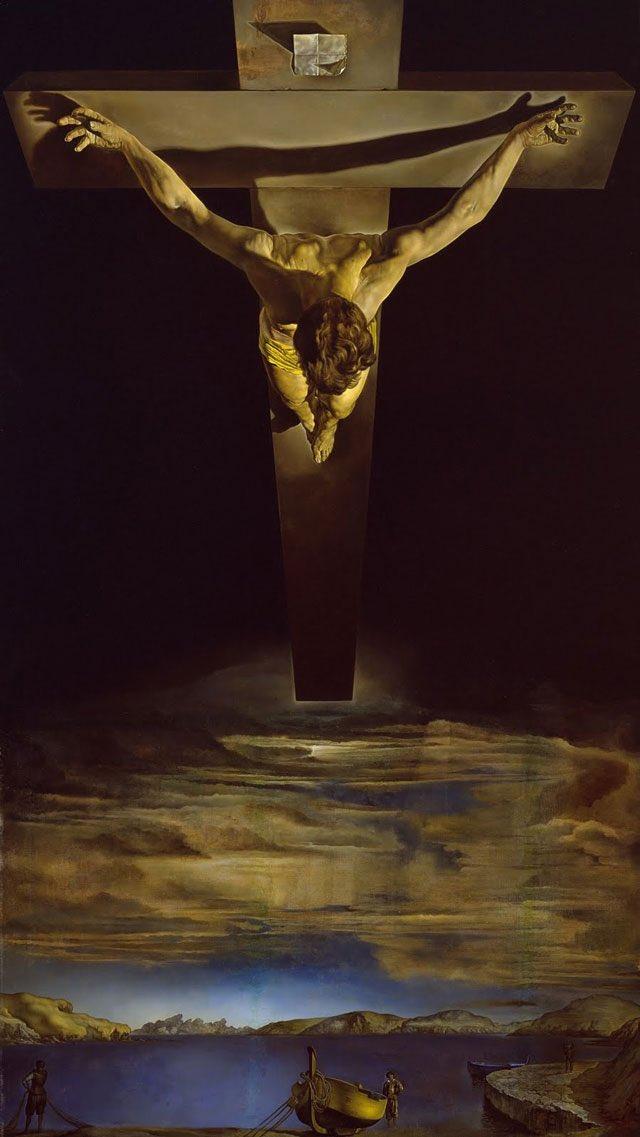 Krzyż Salwador Dali Wielki Piątek